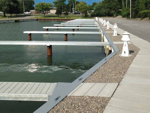 RGC heavy duty marina dock system