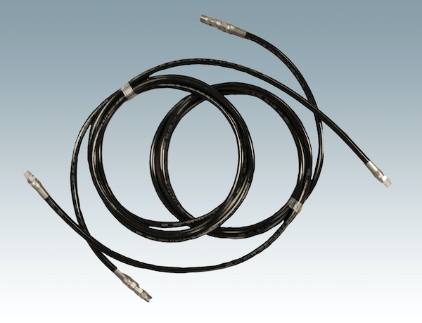 coiled control box hose extensions