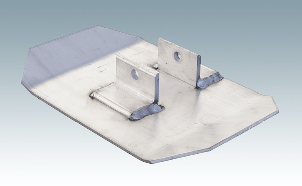 metal foot plate attachment