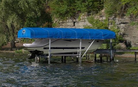 VL canopy new boat