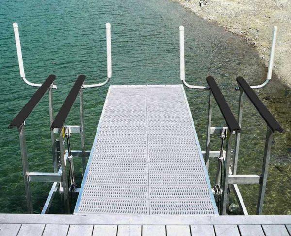 dual hydraulic pwc lift off a dock
