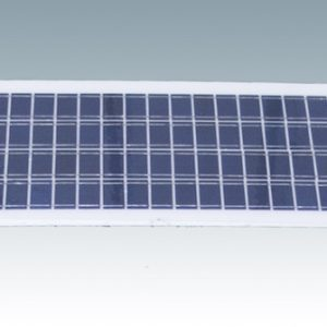 solar panel white frame with grid
