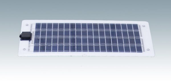 solar panel white frame with grid